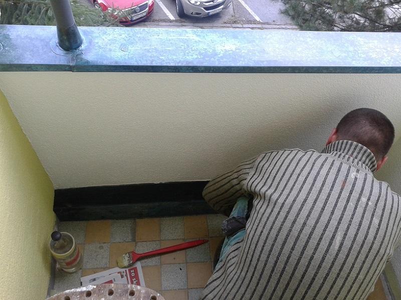 Kompletná rekonštrukcia balkóna Dlhá ul. Prievidza