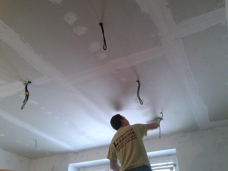 Kompletná rekonštrukcia obývacej izby spríslušenstvom Prievidza