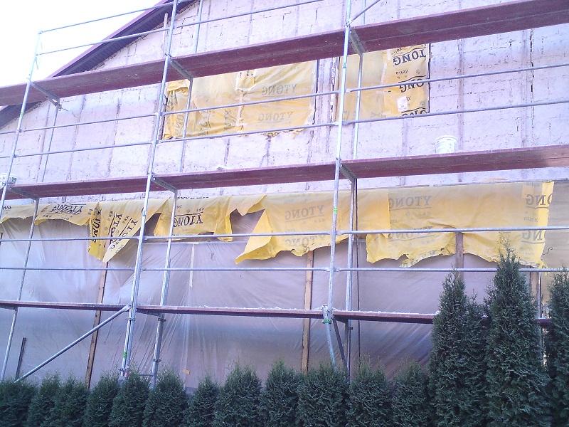 Oprava, zateplenie štítoviek RD Dolné Vestenice