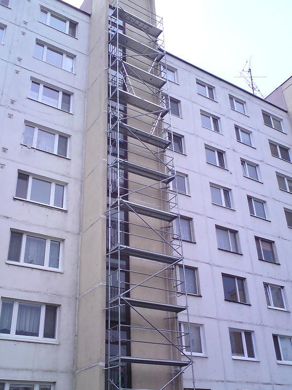 Prenájom lešenia na copility pre Slovaktual vTopoľčanoch