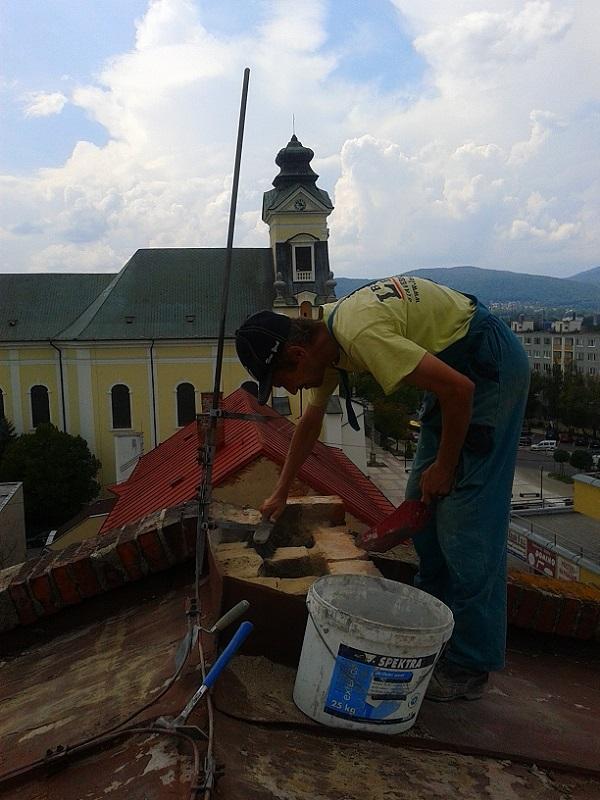 Prenájom lešenia, oprava komínov vpredajni Makyta Púchov Prievidza