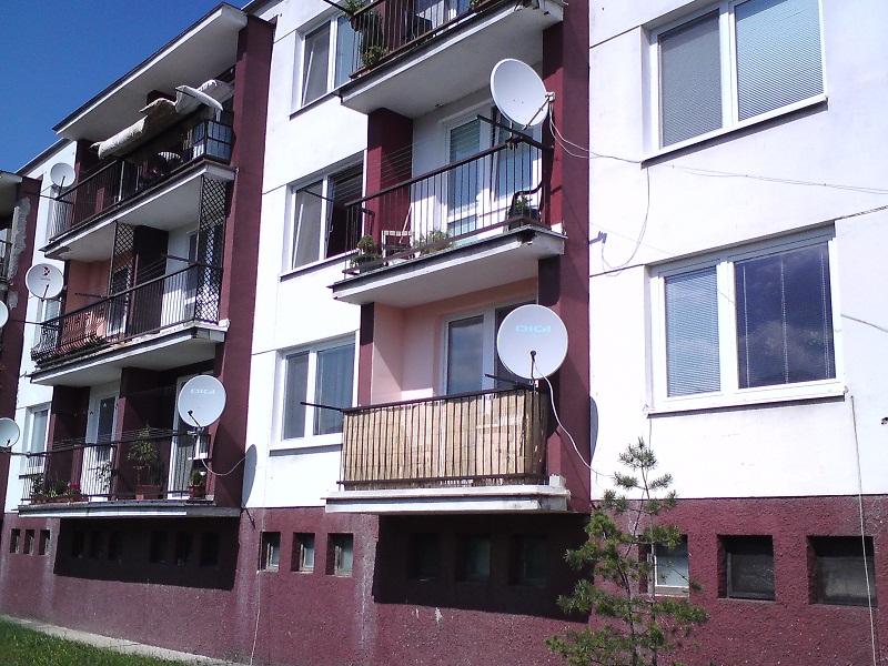 Revitalizácia bytového domu Diviaky nad Nitricou