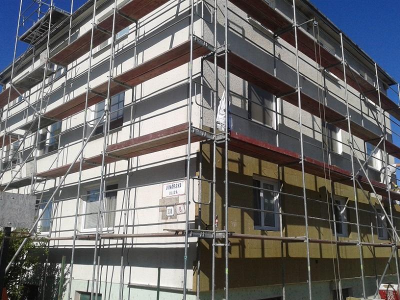 Revitalizácia bytového domu Lužianky okr. Nitra