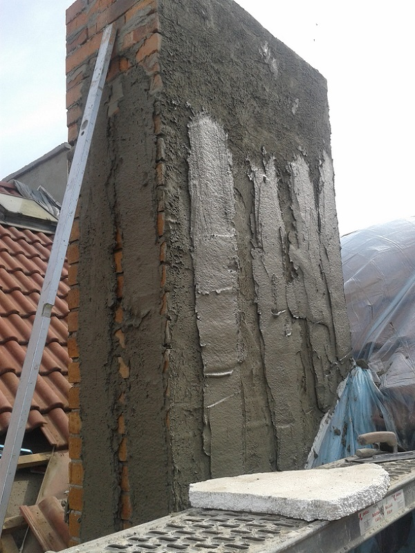 Revitalizácia podkrovia aopravy komínov Praha Žižkov