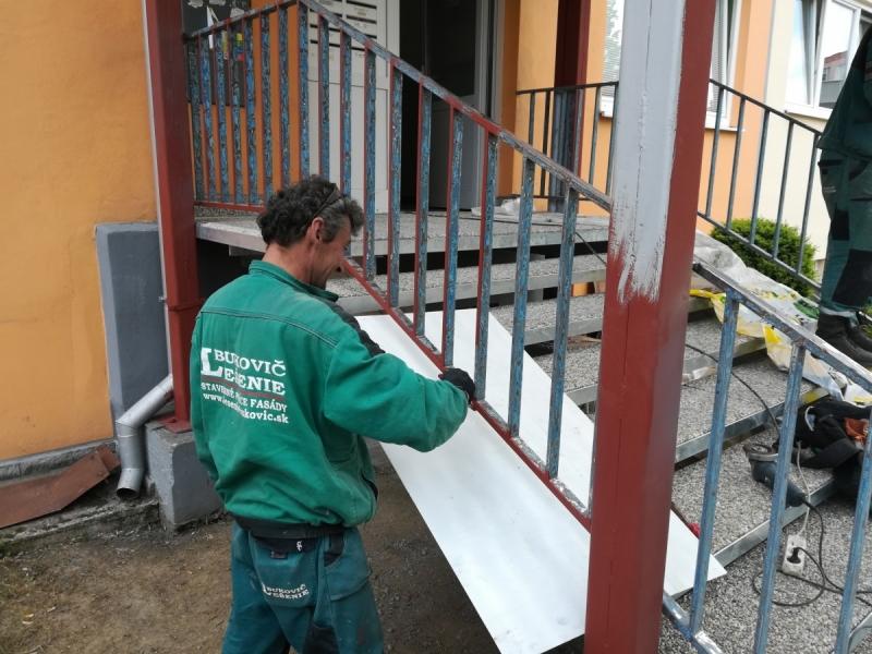 Revitalizácia schodov do bytového domu PD