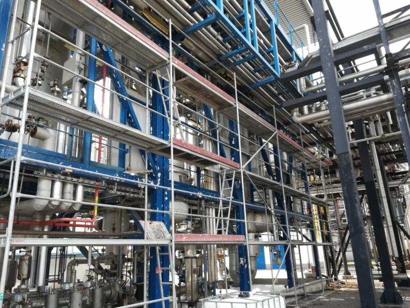 Sasol oprava potrubia, výmena potrubia, výmena izolácii