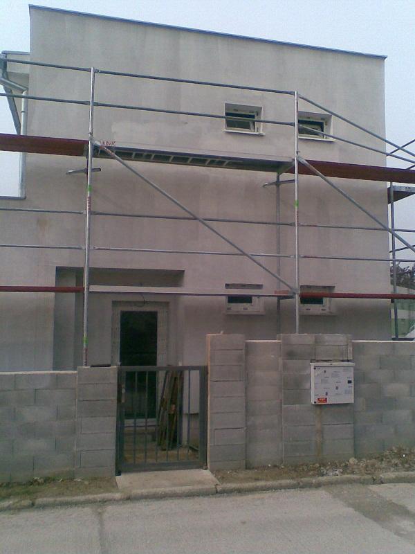 Fasádne lešenie 2009